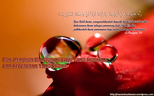 doa-agar-istri-sholih