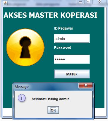 akses admin