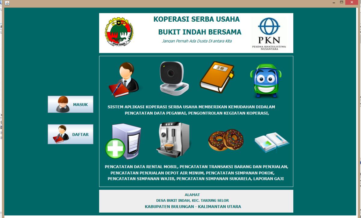 Aplikasi Koperasi Serba Usaha