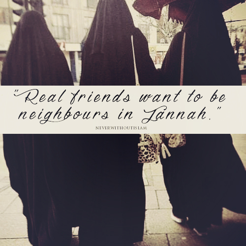 real friends..